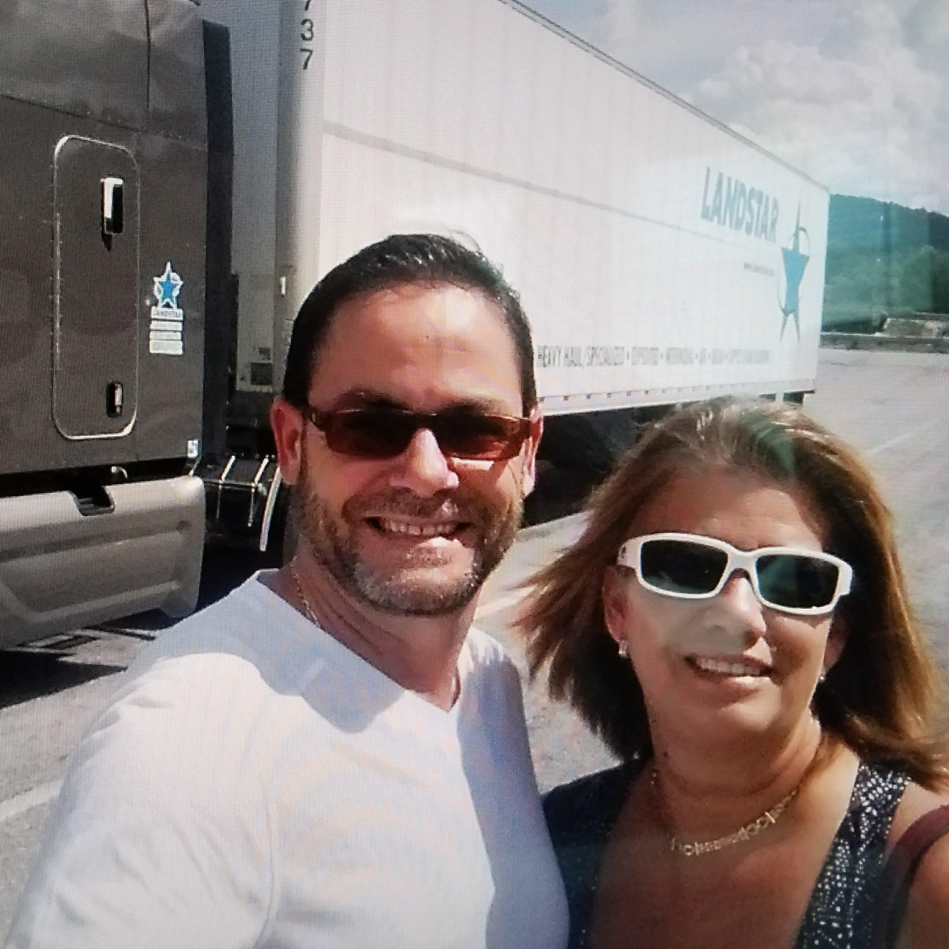 William and Teri Casas, Owners. We Love our Customers and here to personally assure your shipping an Ashlyn Logistics, LLC - Florida Landstar Agency Miami (305)882-9199
