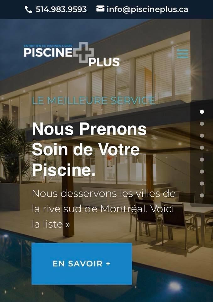 Piscine Plus Rive-Sud à Saint-Constant