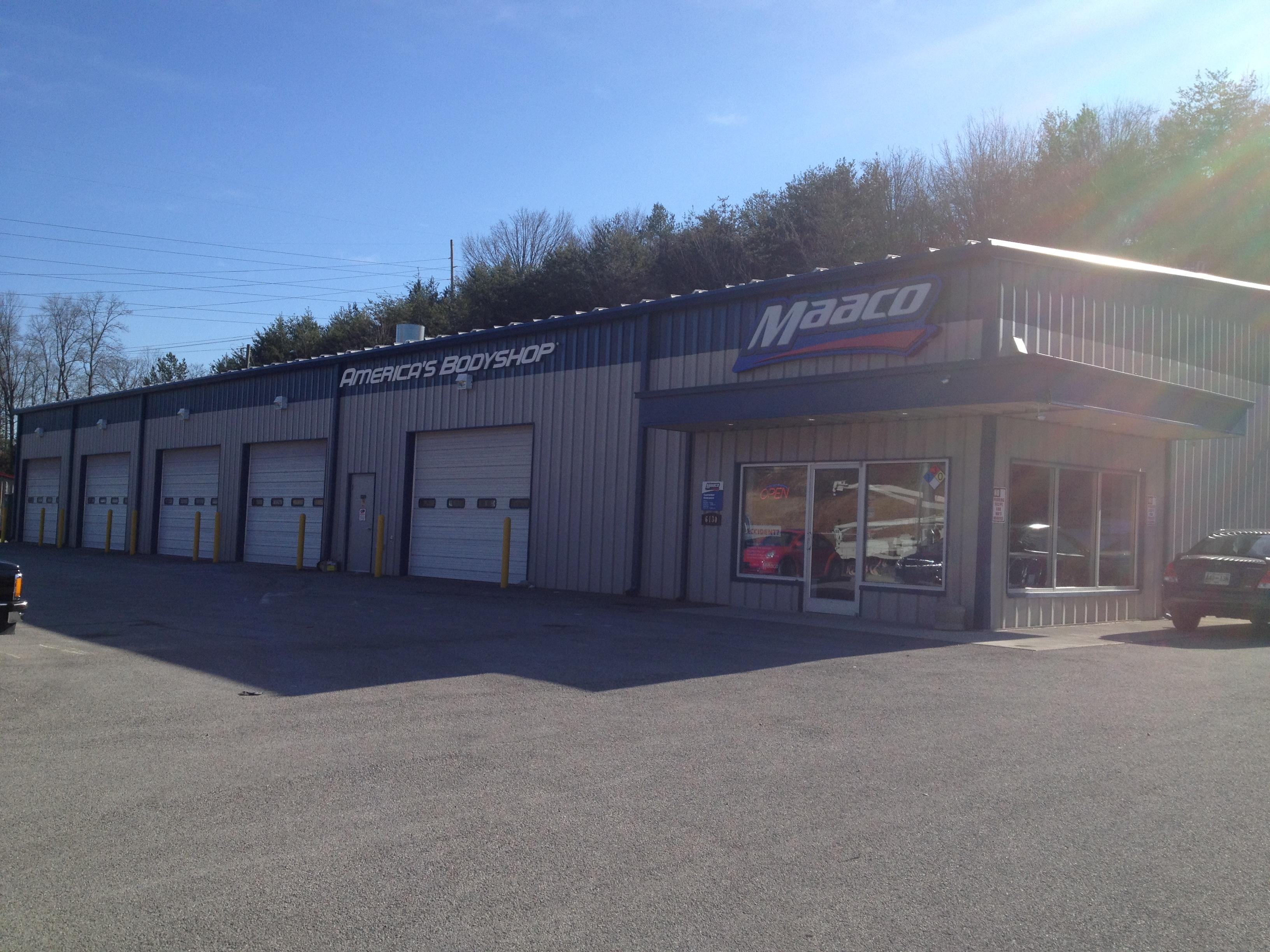 maaco collision repair auto painting knoxville