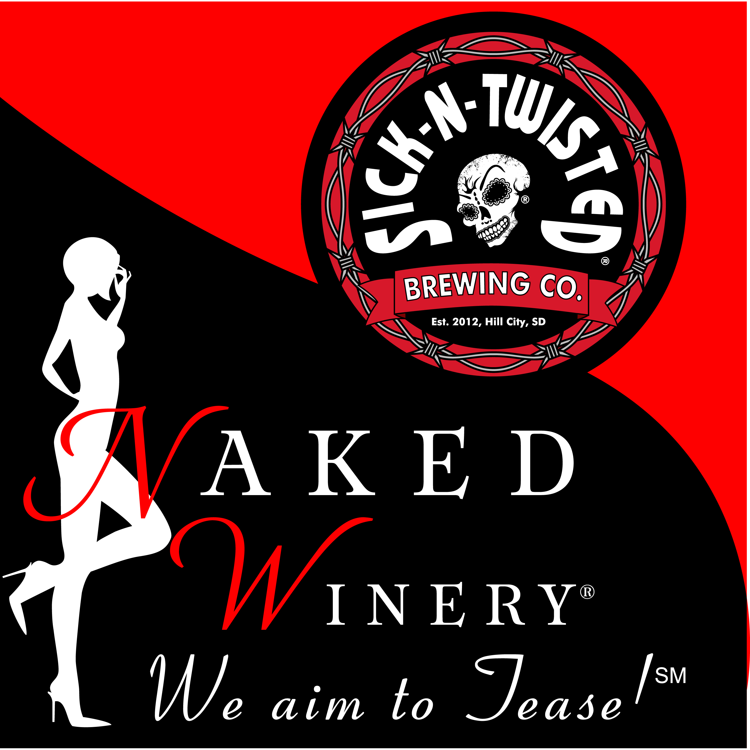Naked Winery & Sick-N-Twisted Brewing Company
