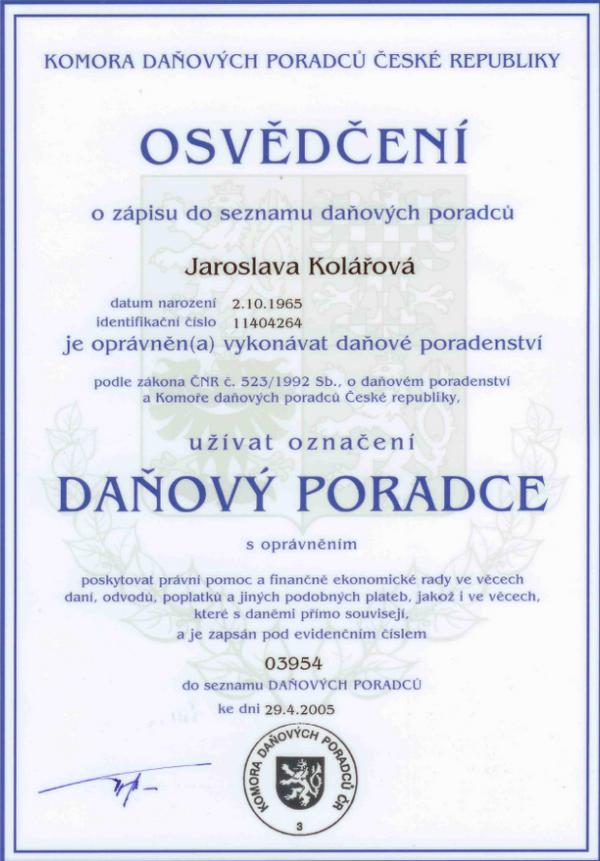 ÚČETNICTVÍ ŠUMAVA s.r.o. - daňové poradenství, mzdy - Plzeň Klatovy Nepomuk