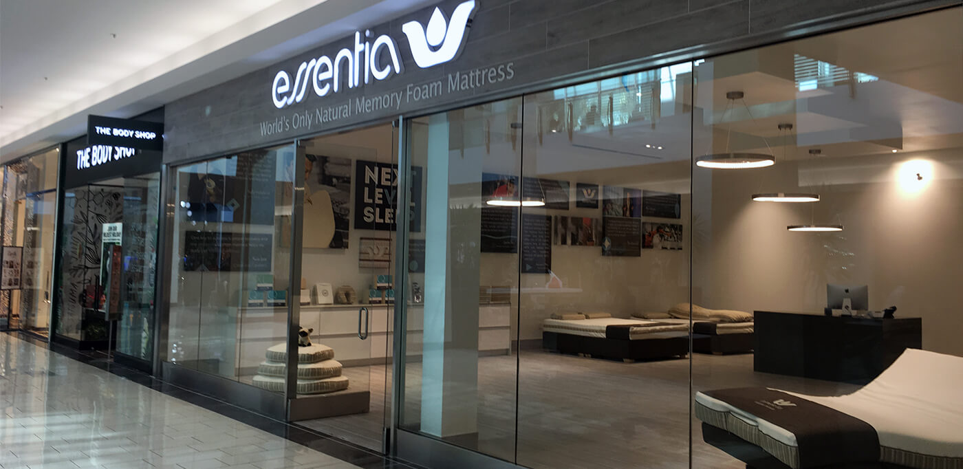 Essentia natural memory foam mattresses in frisco tx for Bedroom furniture 75034