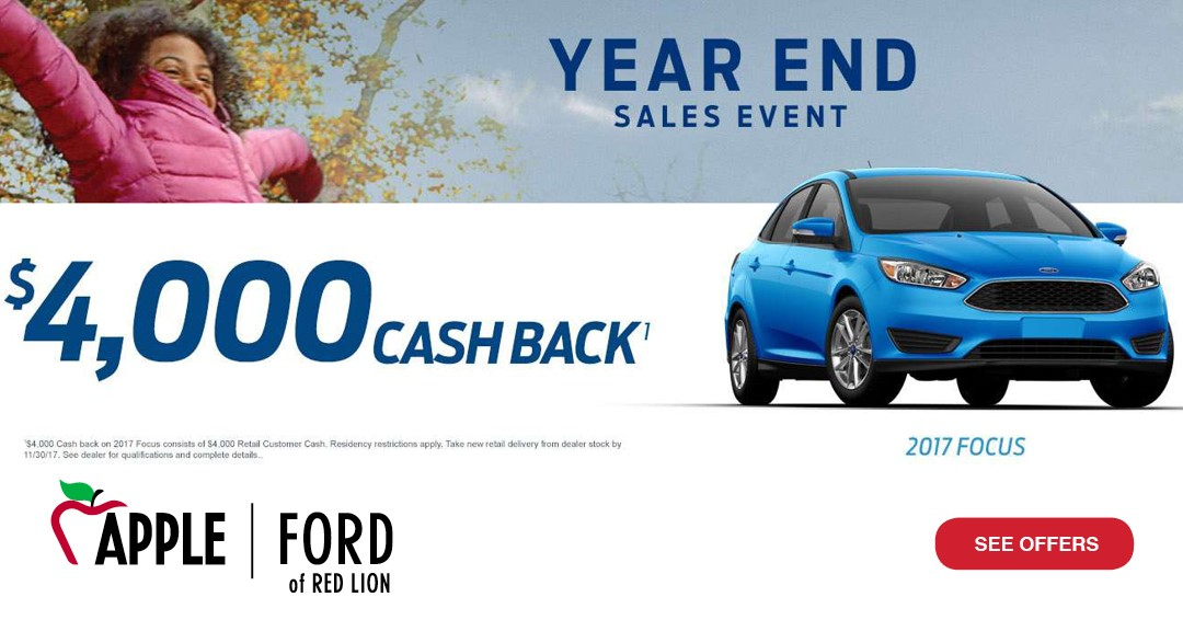Apple Ford Red Lion Car Wash