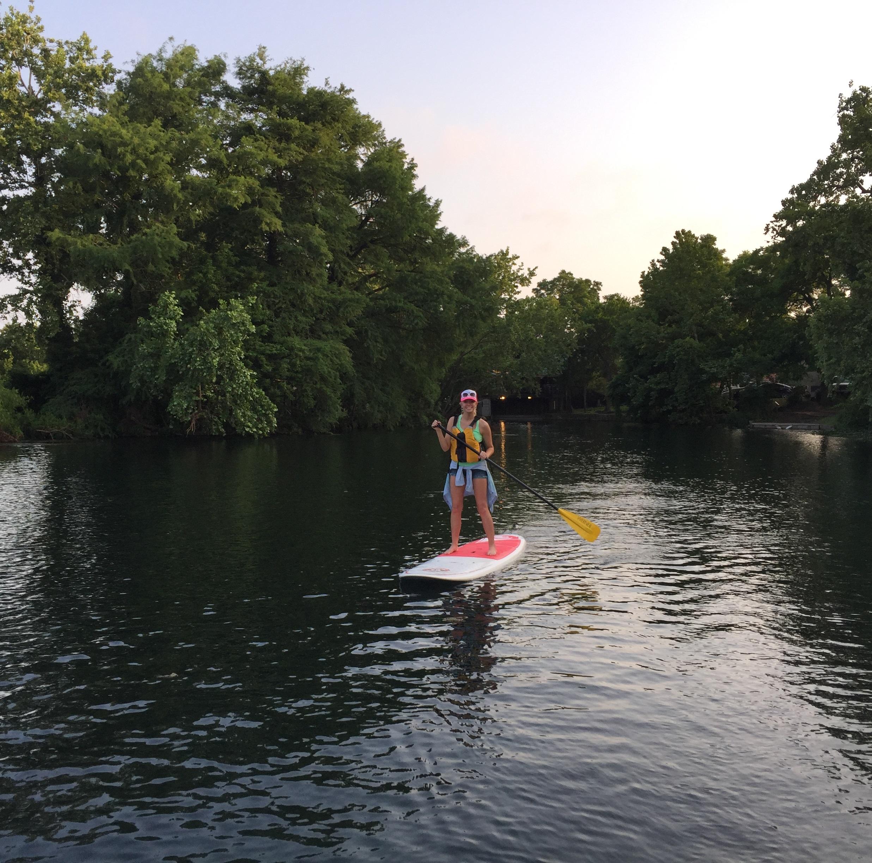 Exploring Spring Lake: Sunset SUP