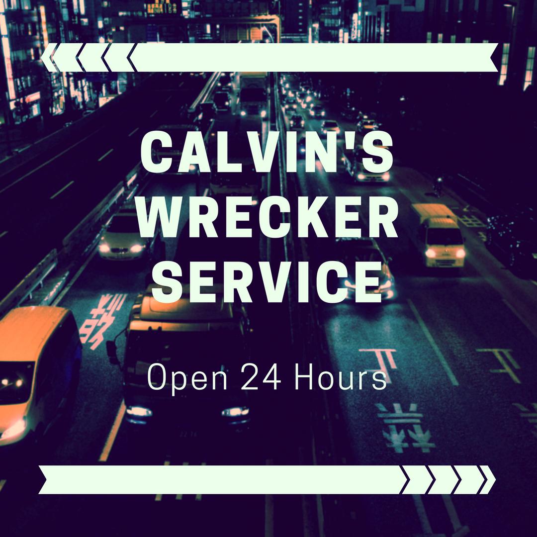Calvin's Wrecker Service