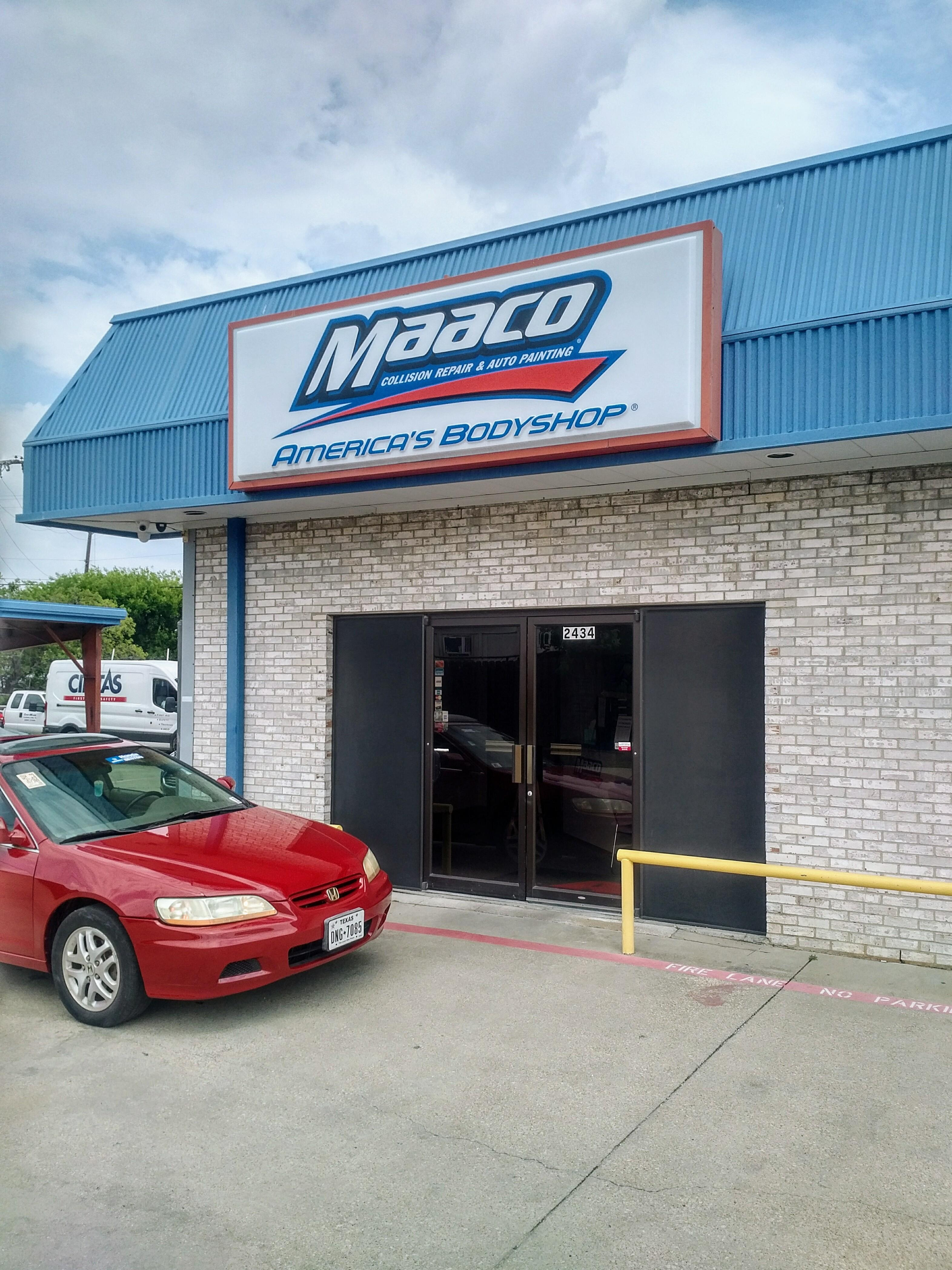 maaco collision repair auto painting in irving tx 75062