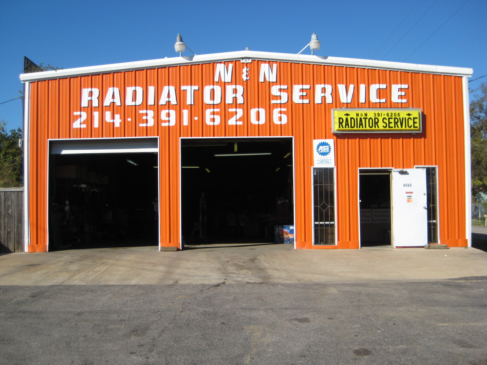 N N Radiator Service Dallas Texas Tx