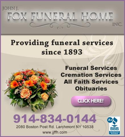 John J Fox Funeral Home Inc Larchmont Ny
