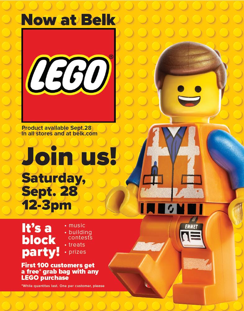 LEGO Launch Party: Belk SouthPark