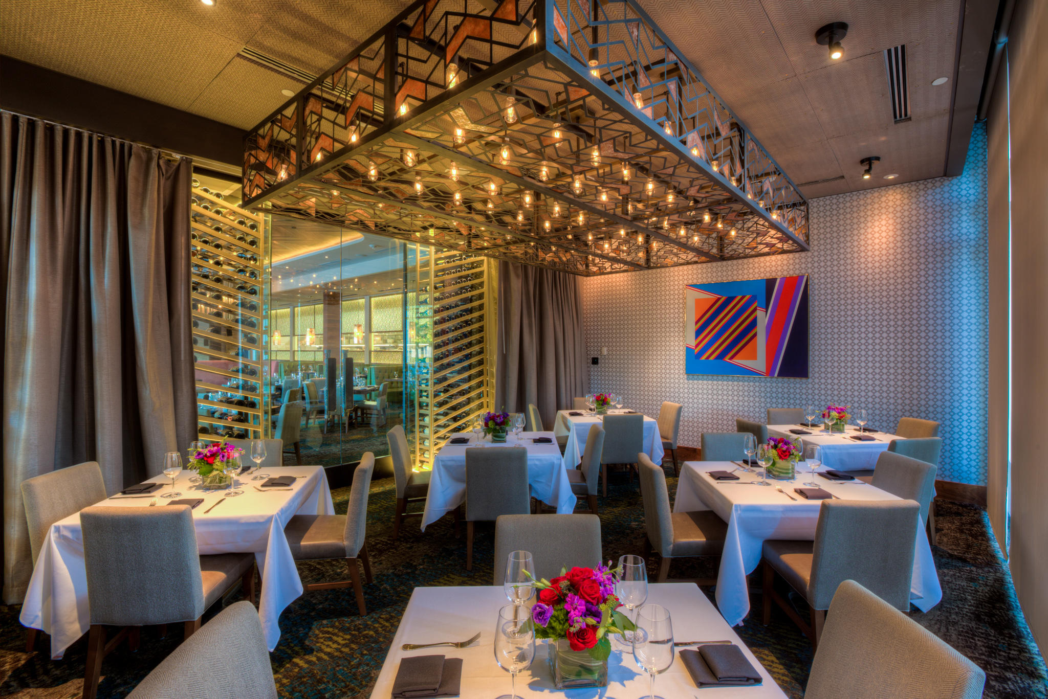 Del Frisco's Double Eagle Steakhouse Orlando THE EXECUTIVE private dining room