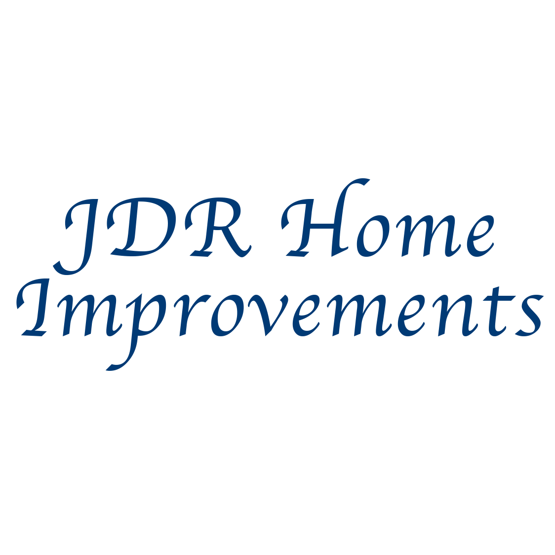 JDR Home Improvements