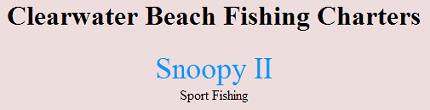 Snoopy Ii Charters