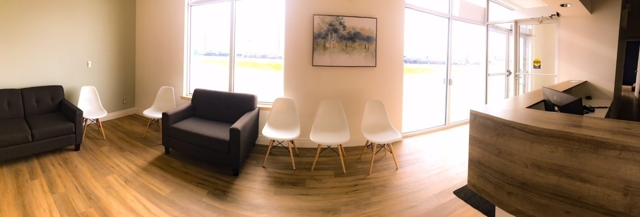 Northwest Dentistry (Dr. Karen Mclean) in Charlottetown: A panoramic view of our waiting room