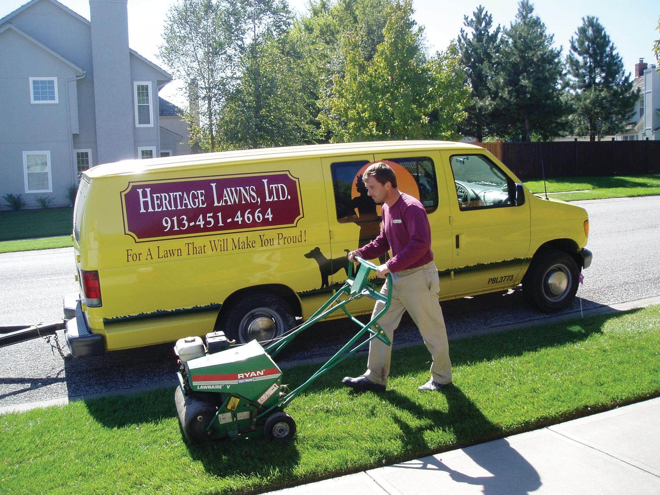 Heritage Lawn Seeding