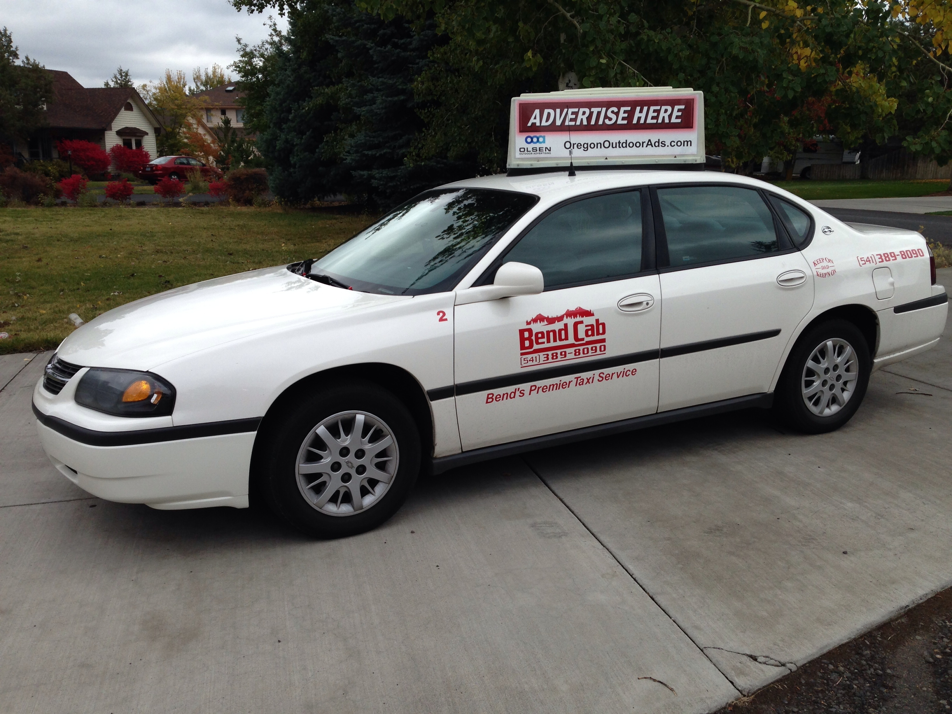 Bend Taxi and Shuttle Service - ad image