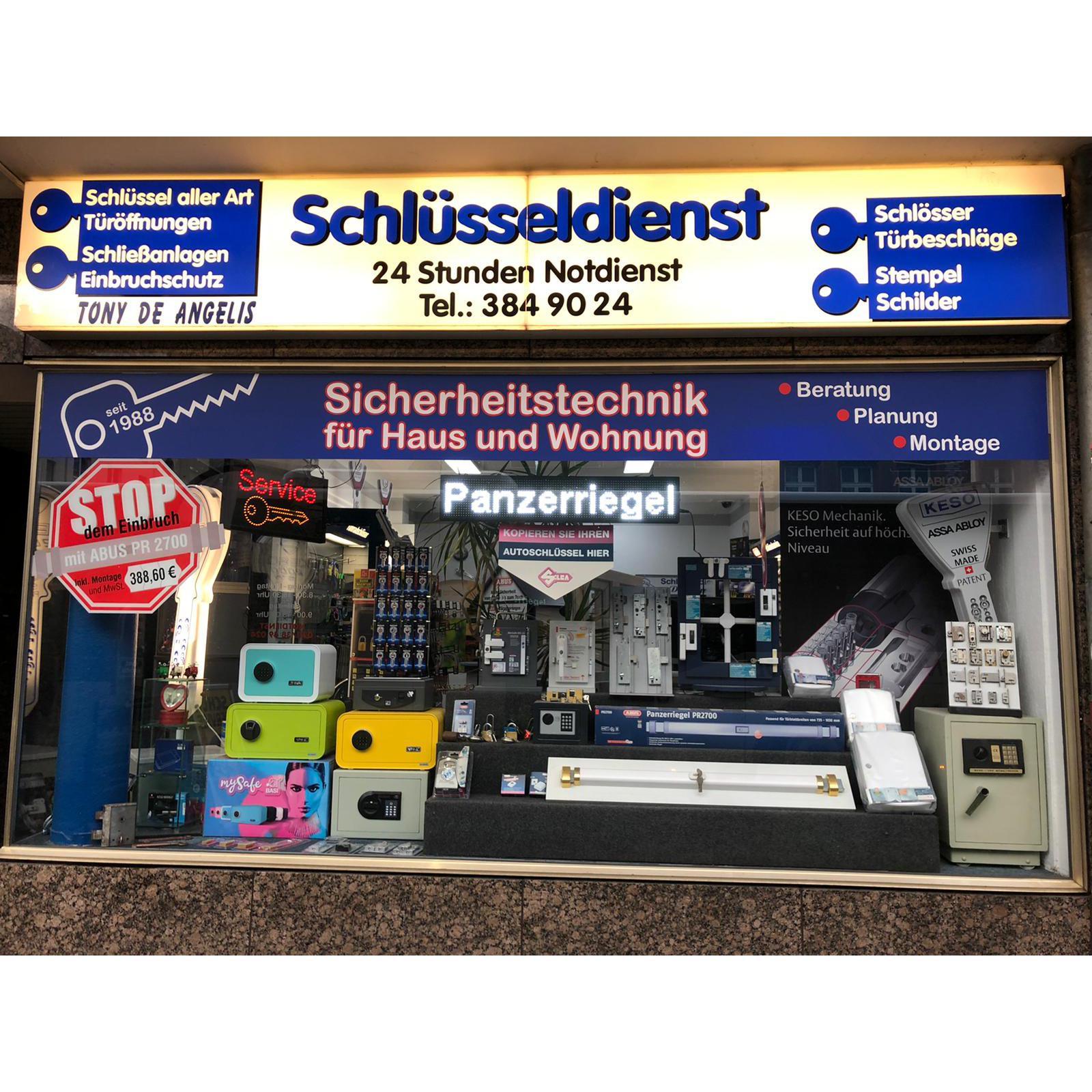 Bild zu Schlüsseldienst de Angelis in Düsseldorf