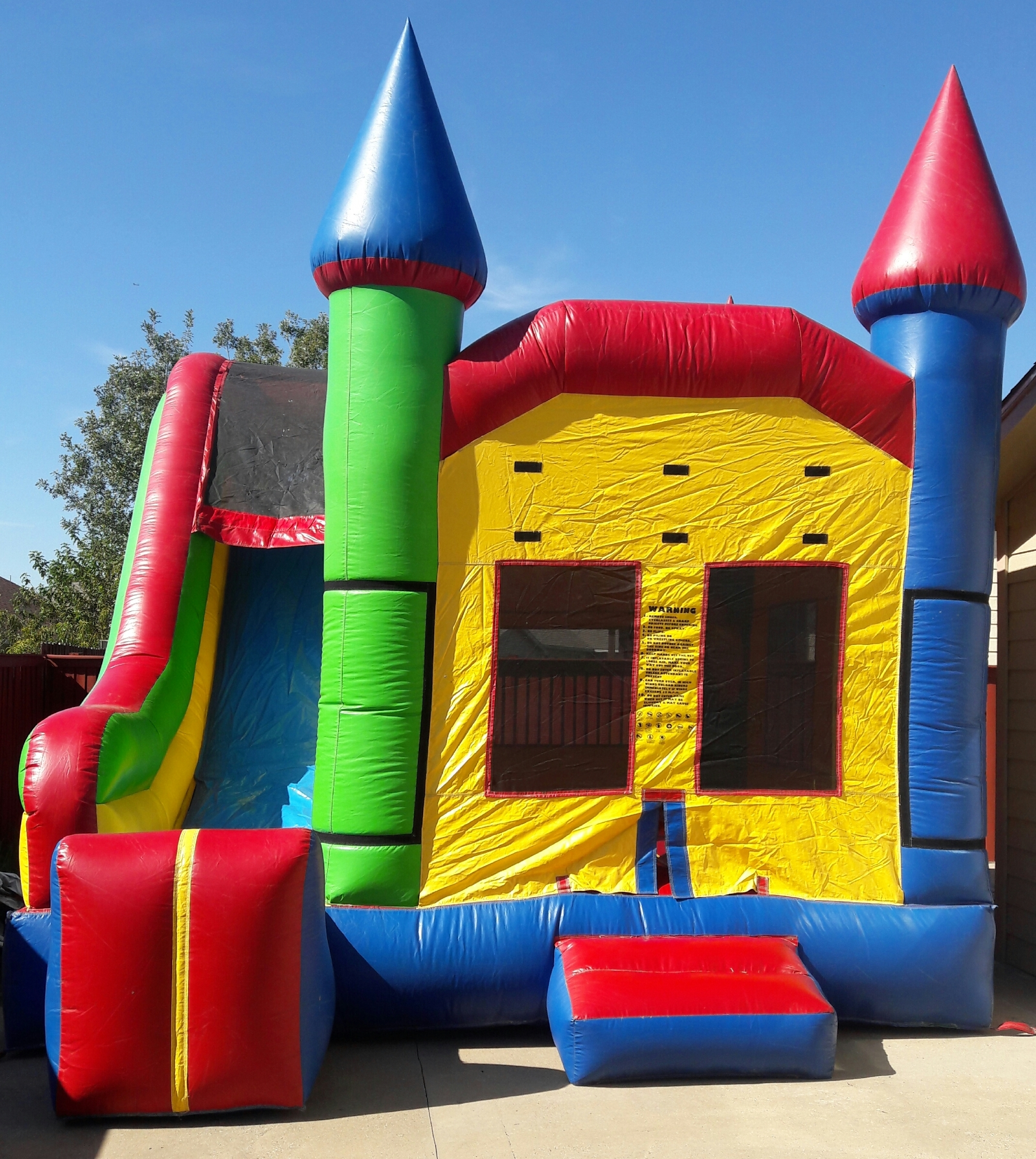 Houses For Rent Local: Lucky Bounce Houses Rentals, Dallas Texas