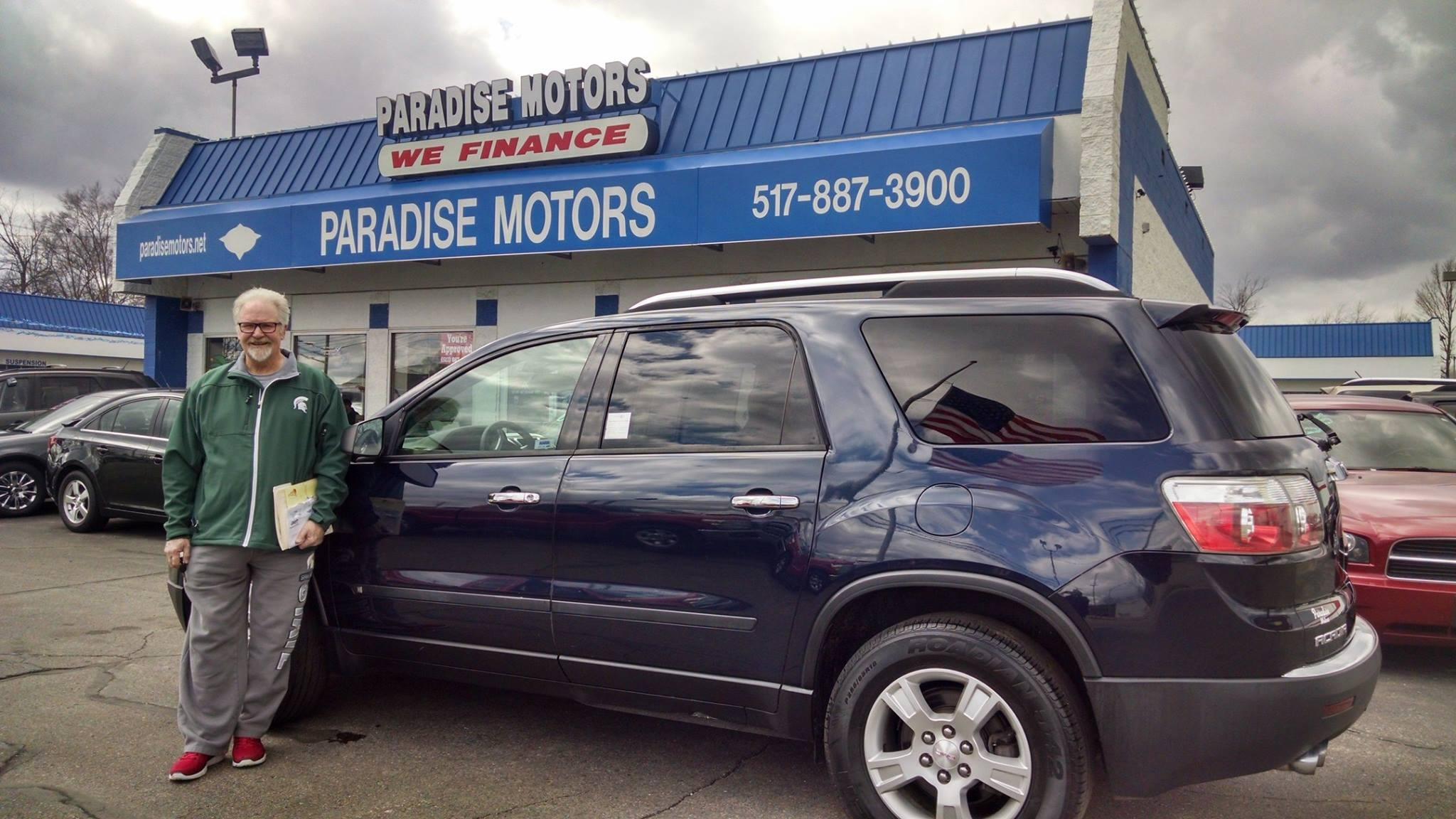 Paradise motor sales in lansing mi 48911 for Motor cars lansing mi