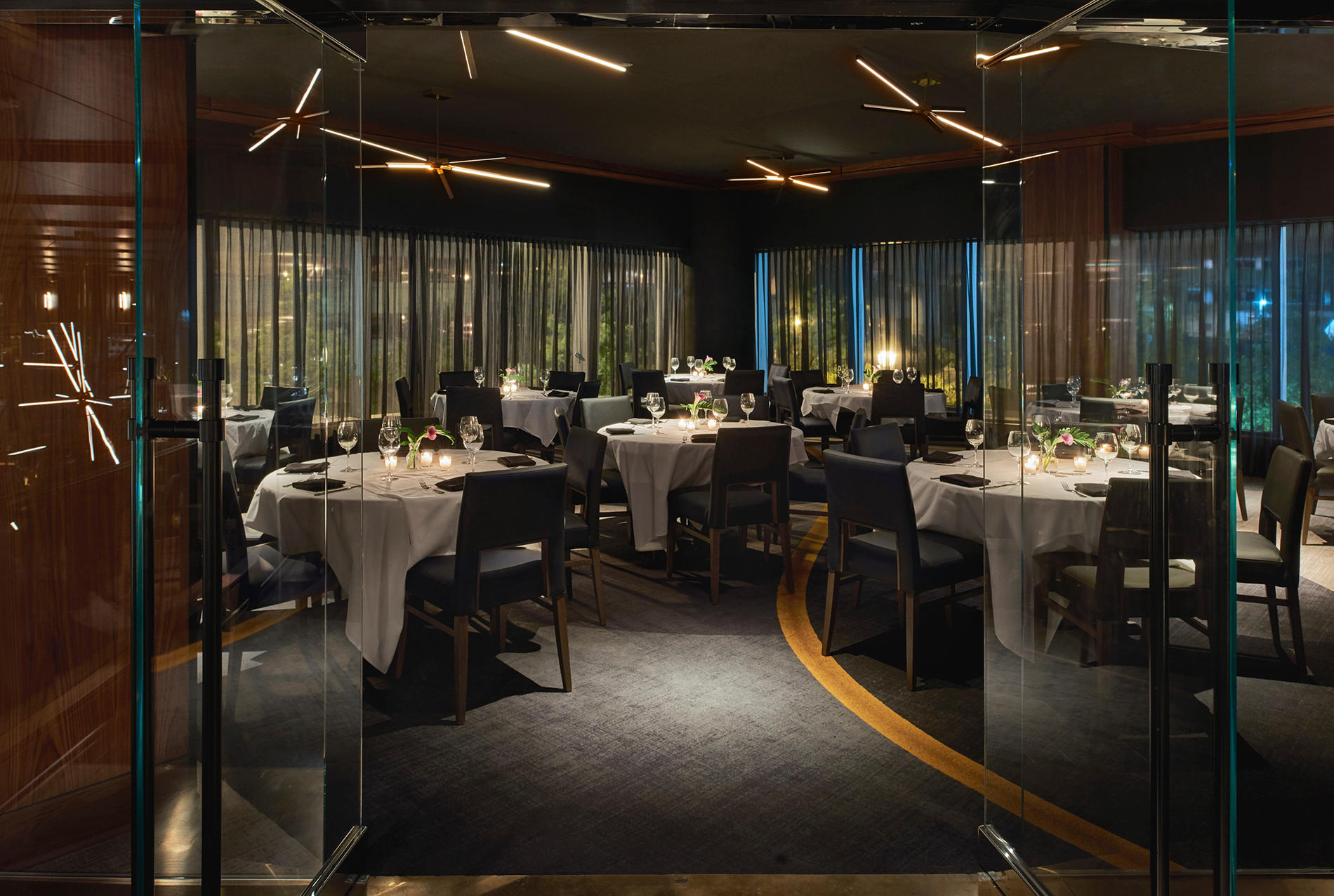 Del Frisco's Double Eagle Steakhouse Dunwoody Eagle Room private dining room