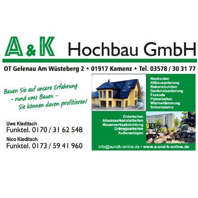 Bild zu A & K Hochbau GmbH in Kamenz