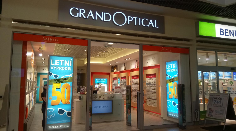 GrandOptical - oční optika OC Haná