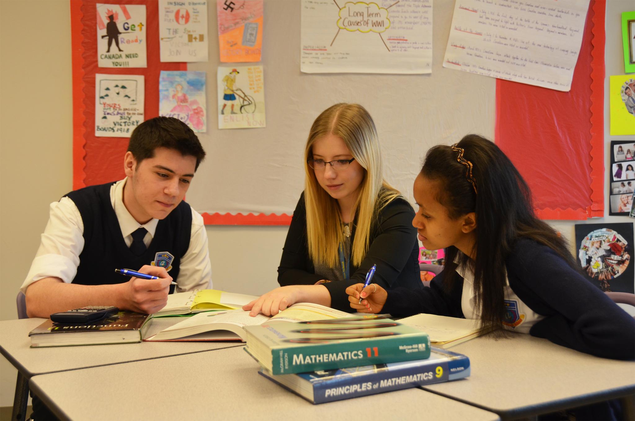 J Addison School in Markham: J. Addison School programs include personalized tutoring according to students' needs.