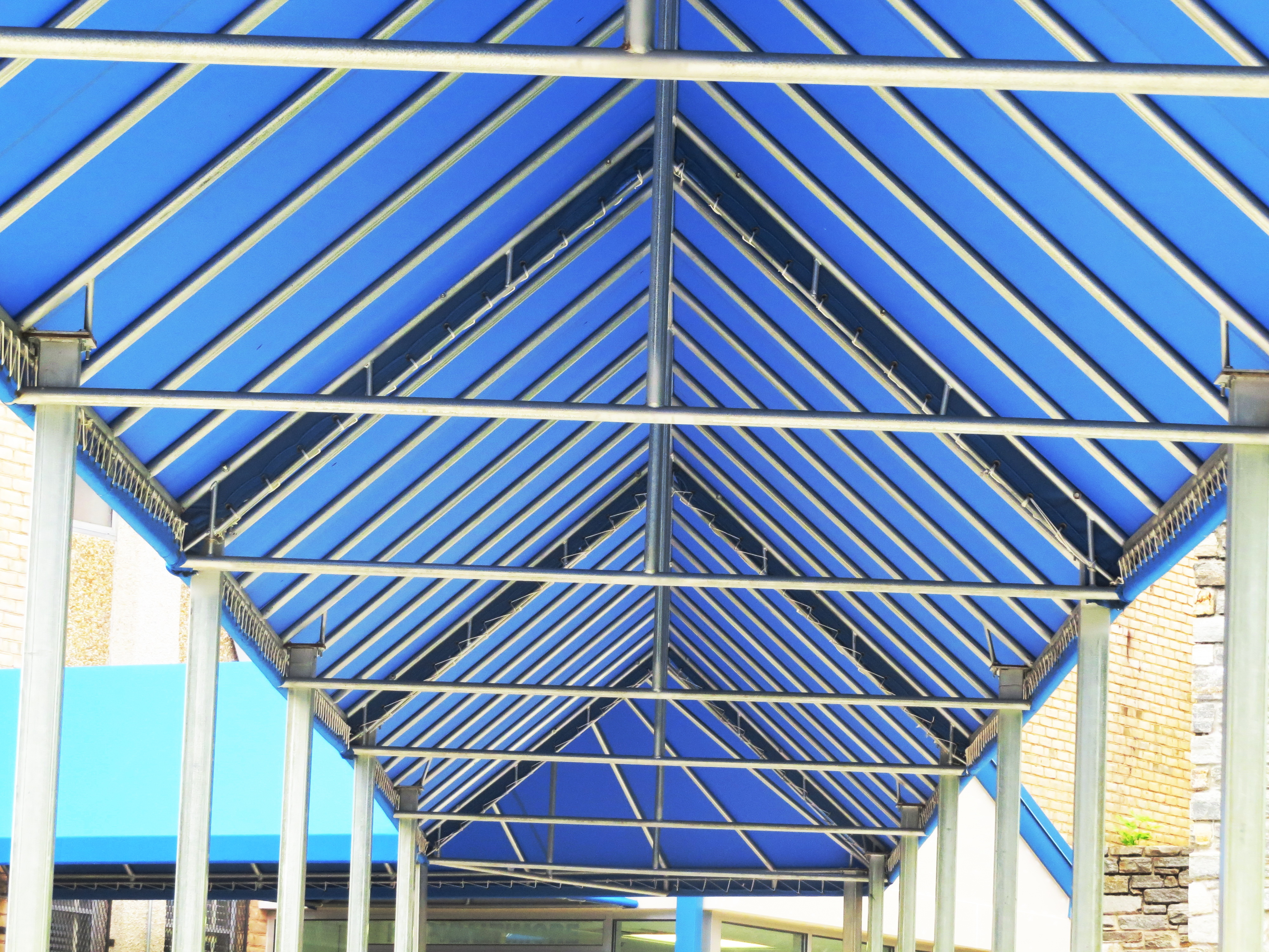 Welded Awning Frame for Kipp Call A. Hoffman Awning in Baltimore     410-685-5687
