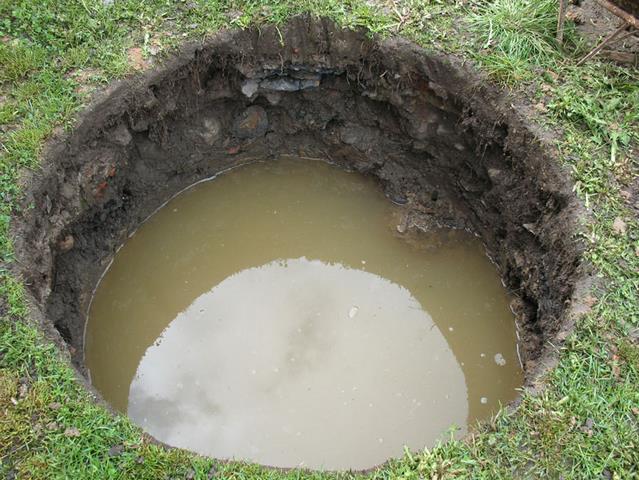 Dušek - kopané studny