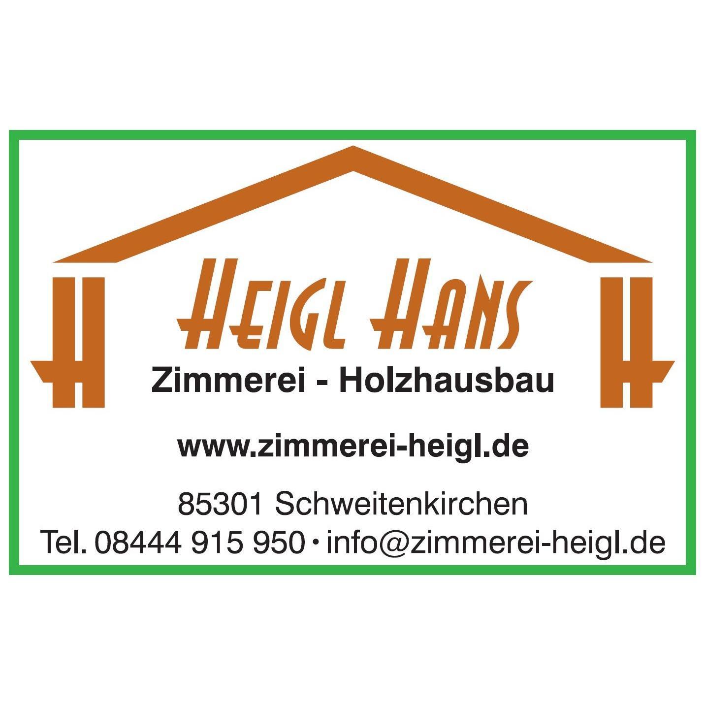 Bild zu Hans Heigl Zimmerei - Holzhausbau in Schweitenkirchen