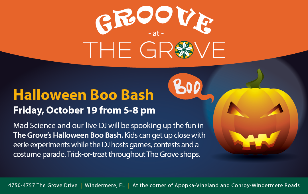 Groove at The Grove - Halloween Boo Bash