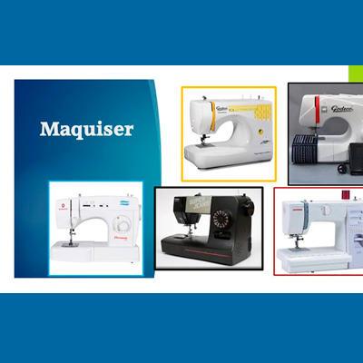 MAQUISER - MAQUINAS DE COSER Y DE TEJER