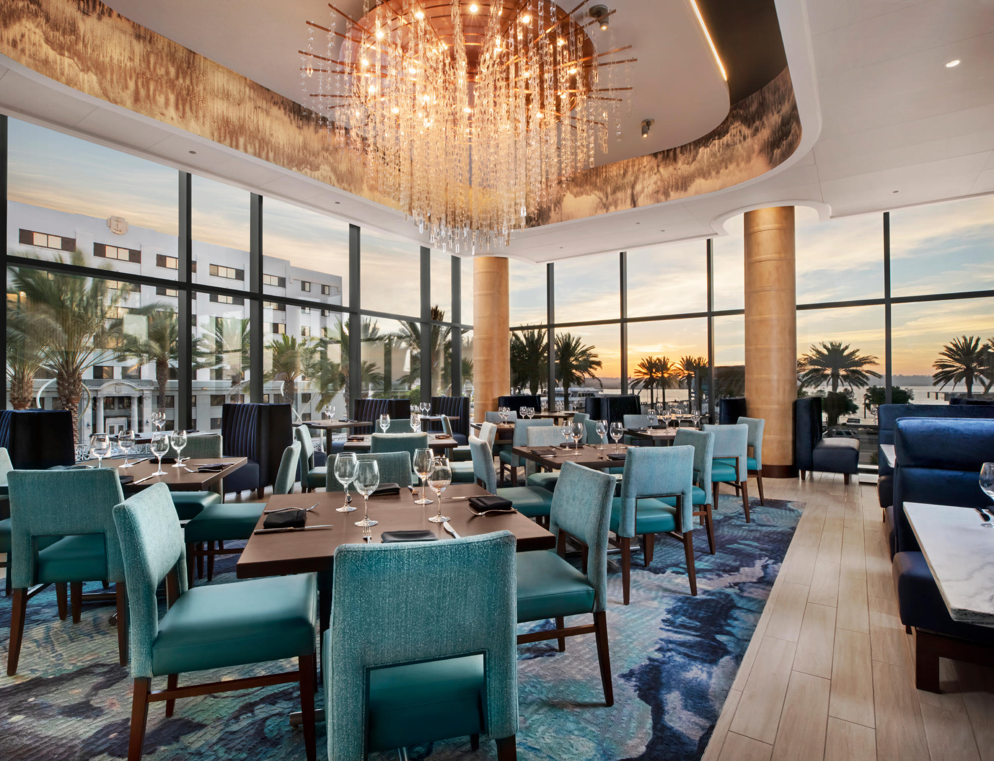 Del Frisco's Double Eagle Steakhouse San Diego Second Level Buyout private dining room