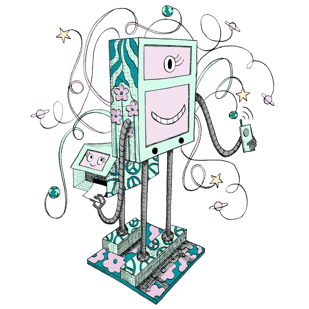 Robot Booth  | Atlanta Photo Booth Rental - Atlanta, GA - Party & Event Planning