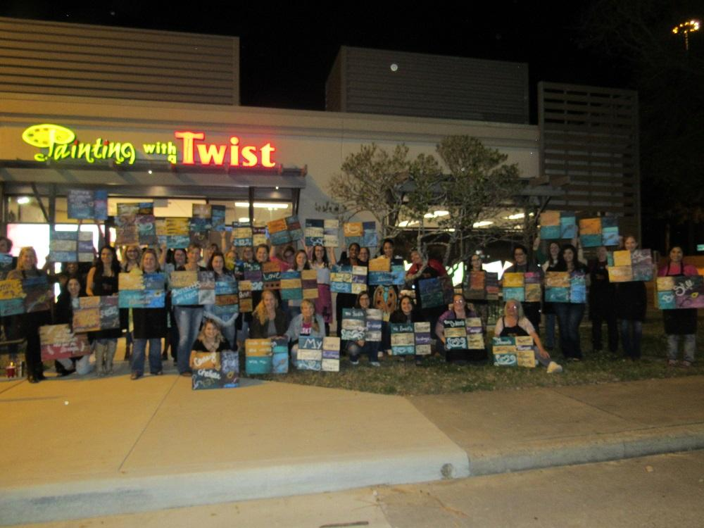Painting with a twist in conroe tx 77304 for Painting with a twist conroe