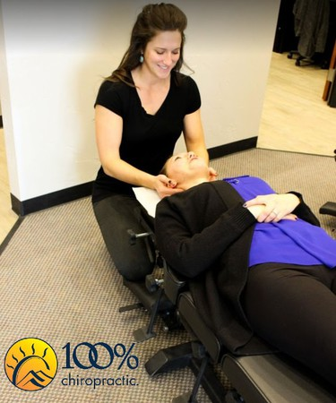 Dr. Tara approaches patient's care on a highly individual basis. Each individual patient is unique and one-size-fits-all doesn't work. She treats each patient with sympathy, evidence-based practice methods, and is determined to find the root cause of the problem and provide relief. 100% Chiropractic takes the same patient-centered approach to healing, so for her it was an easy decision to open a clinic here in Parker. The organization is a strong team of like-minded doctors who are revolutionizing health care and trying to make their mark in the world by helping people thrive in their lives.