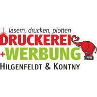 DRUCKEREI + WERBUNG Hilgenfeldt & Kontny Inhaber: Peter Kontny