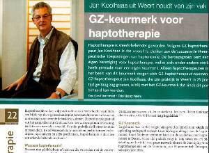 Koolhaas Praktijk Haptotherapie