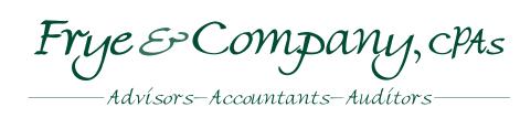 Frye & Company, CPAs - Manassas, VA - Accounting
