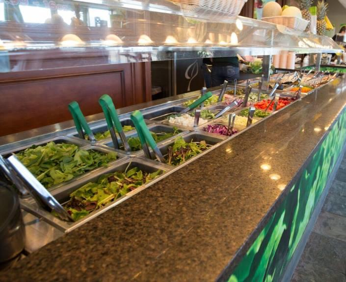 Leaf Salad Bar In East Lansing Mi 48823
