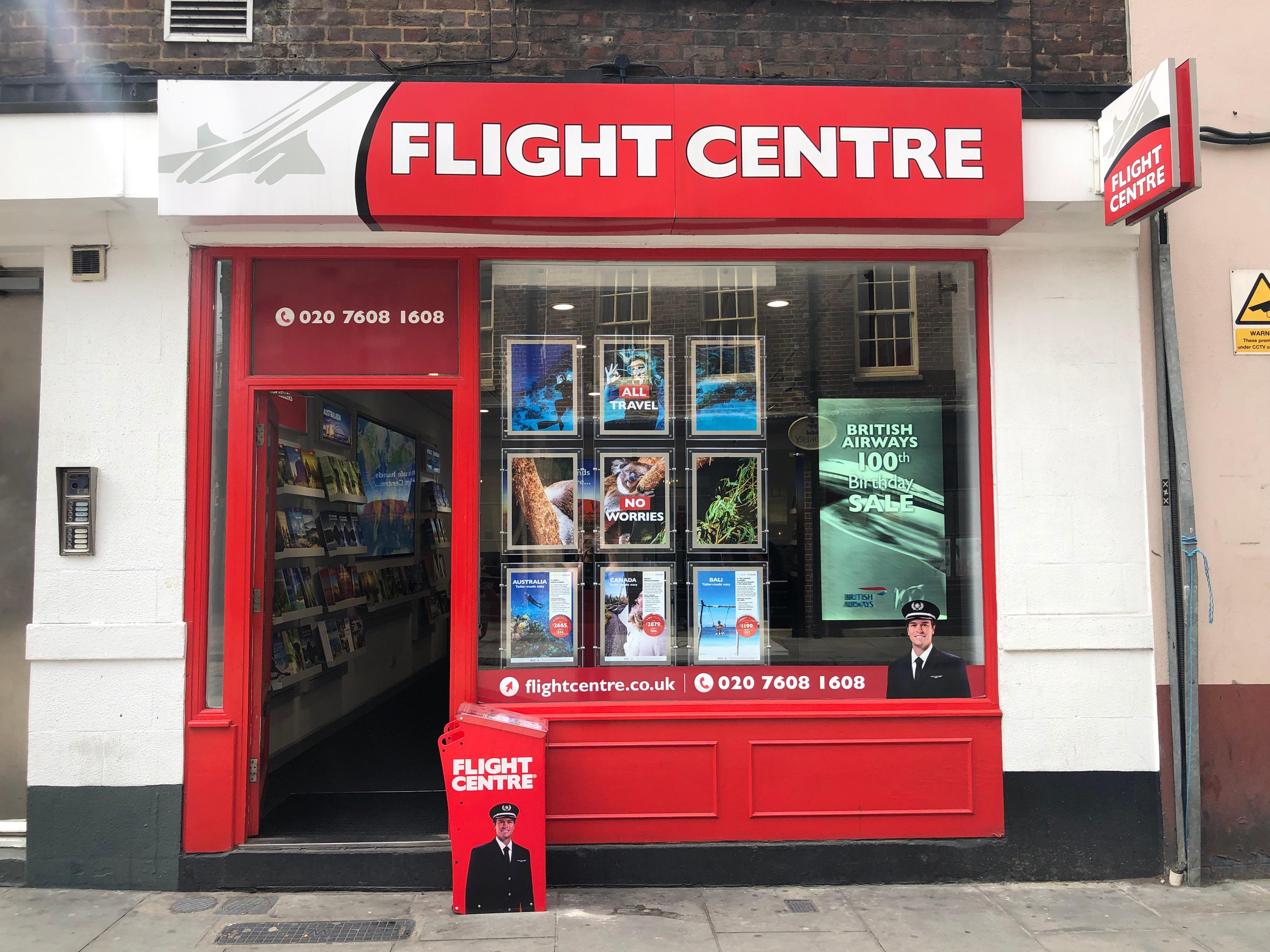 Flight Centre Farringdon