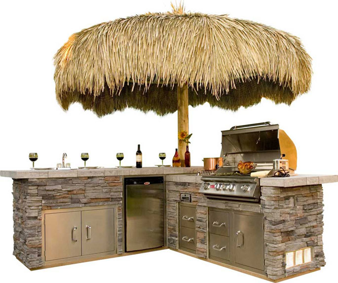 Gourmet Q Outdoor Grill Island By Bull Outdoor Products: Carddine Spas Temecula In Temecula, CA 92590
