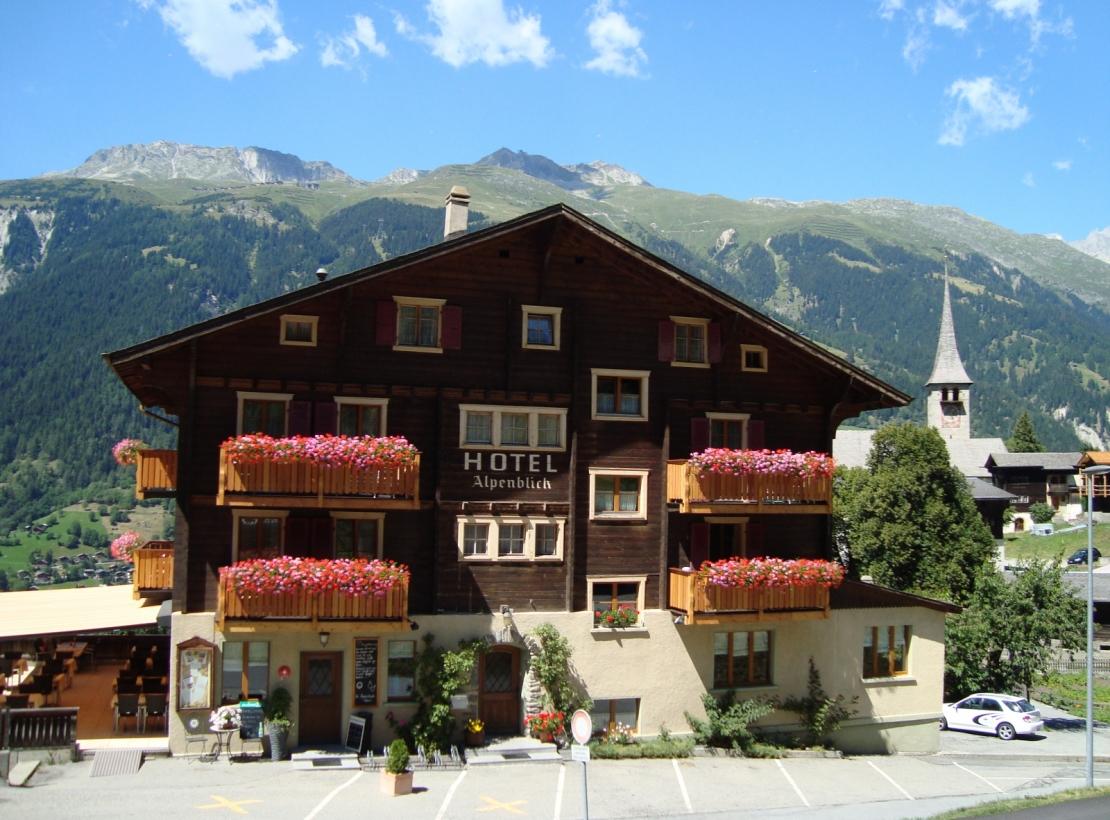 Hotel Alpenblick Ernen