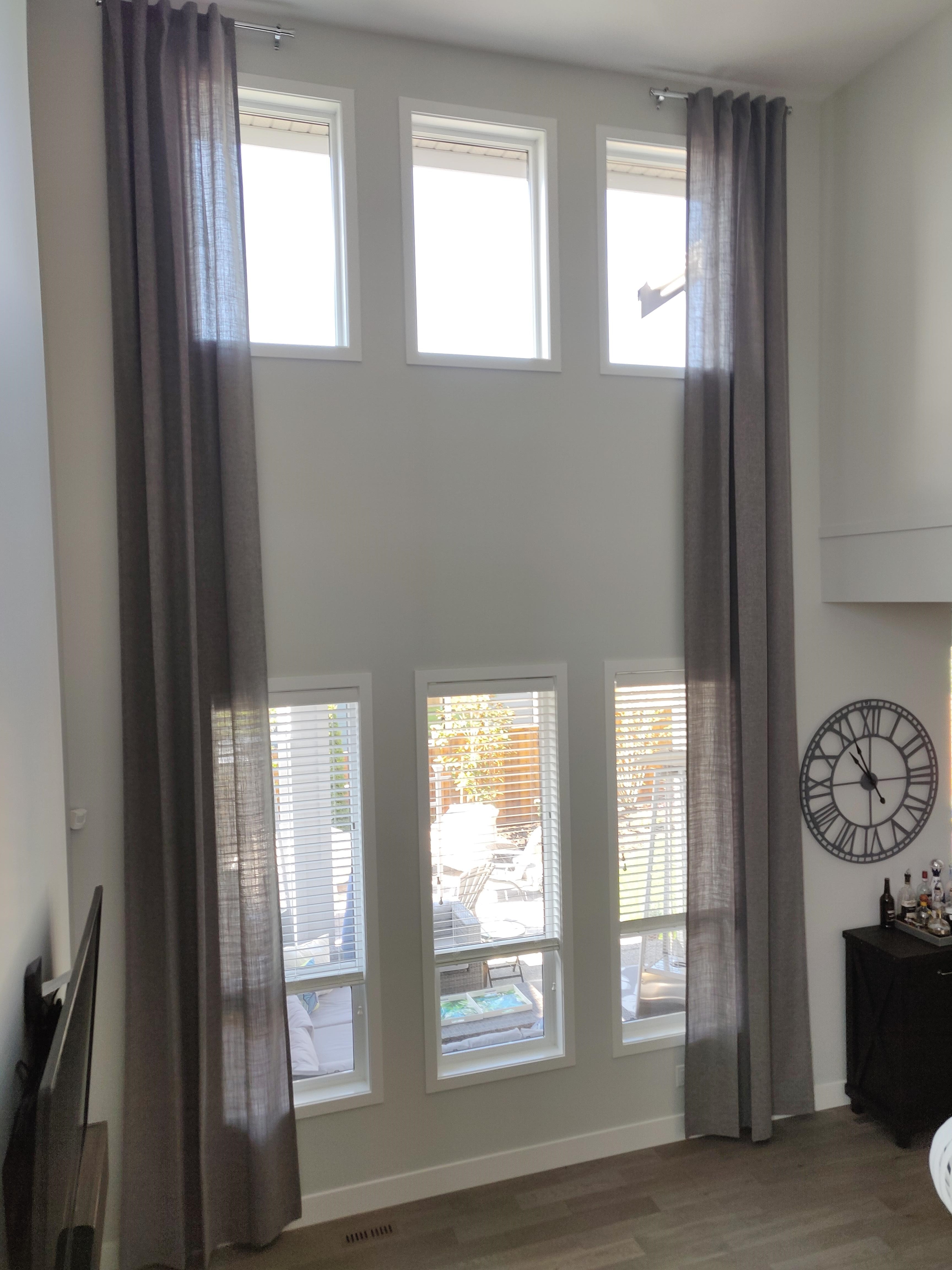 Budget Blinds of Delta, South Surrey and White Rock in Delta: Custom two level drapery