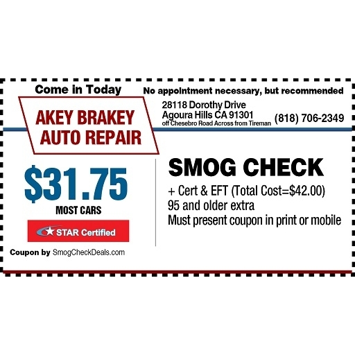 Smog discount coupons near me