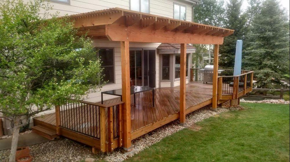 A deck company highlands ranch colorado co for Hardwood floor refinishing highlands ranch co