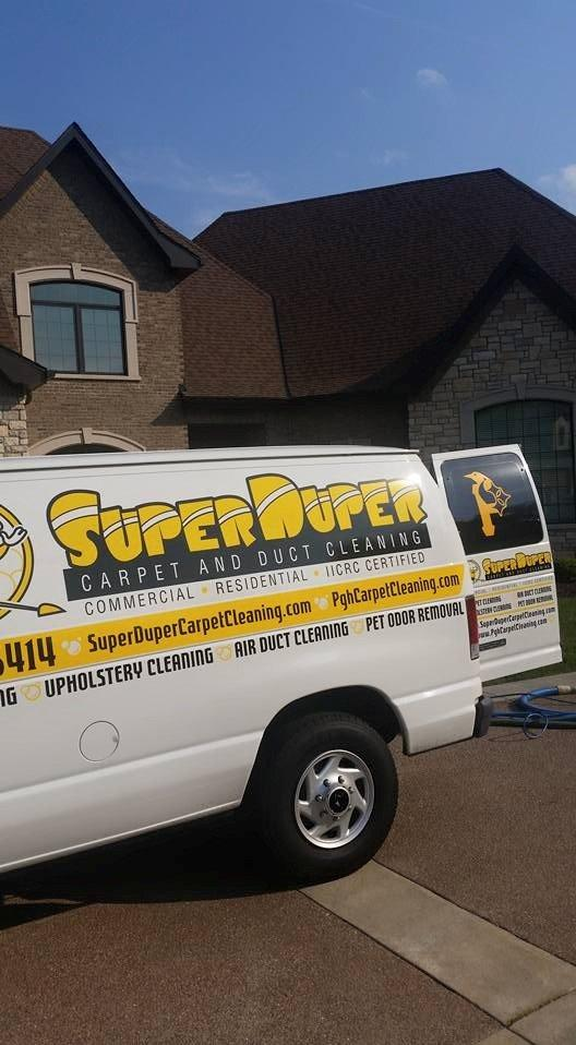 Super Duper Carpet And Duct Cleaning Pittsburgh
