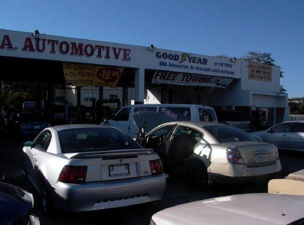 BMA Automotive Brake & Muffler Authority Remy A/C and tires