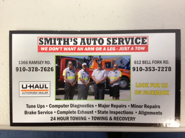 Smith's Auto Service & Muffler shop 2