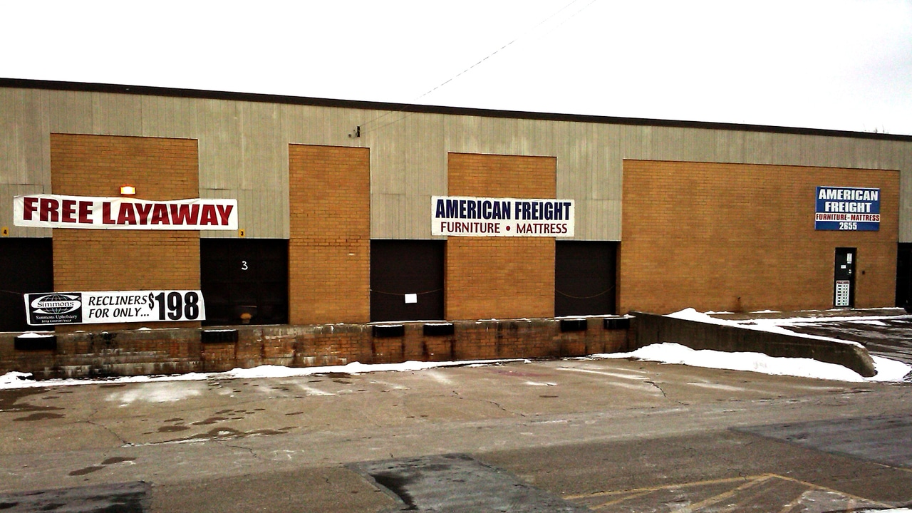 American Freight Furniture And Mattress In Akron Oh 44319