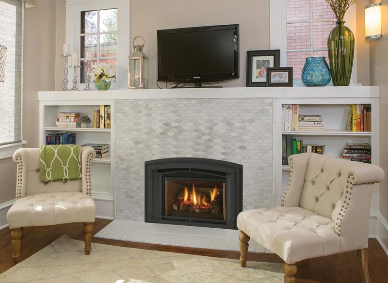 Fireplace Gallery in Edmonton: Regency Liberty Series Traditional Medium Gas Fireplace Insert - LRI4